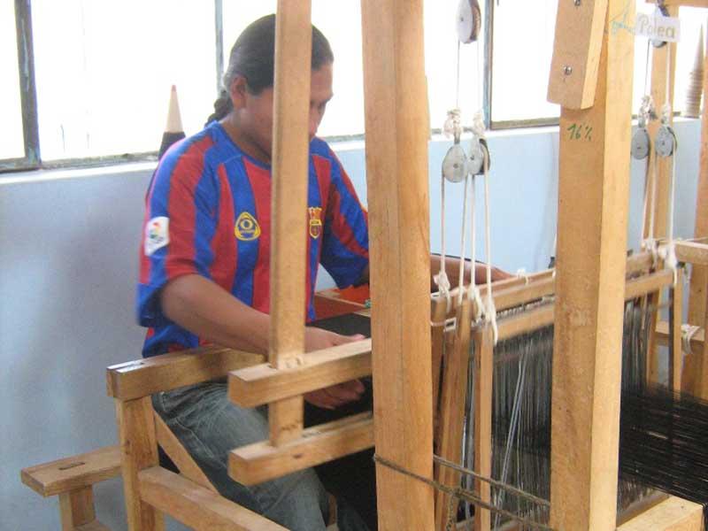 Workshop Kunsthandwerk in Ecuador