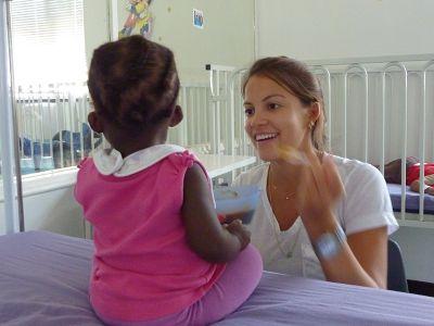 Teilnehmerin im Hospiz