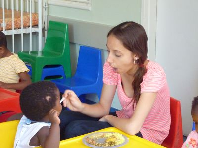 Teilnehmerin im Kinderhospiz