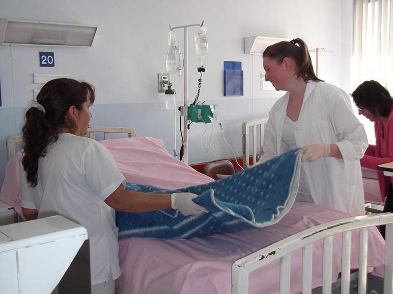 Pflegepraktikum im Krankenhaus in Ecuador