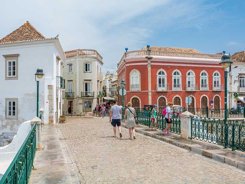 Algarve-Städtchen
