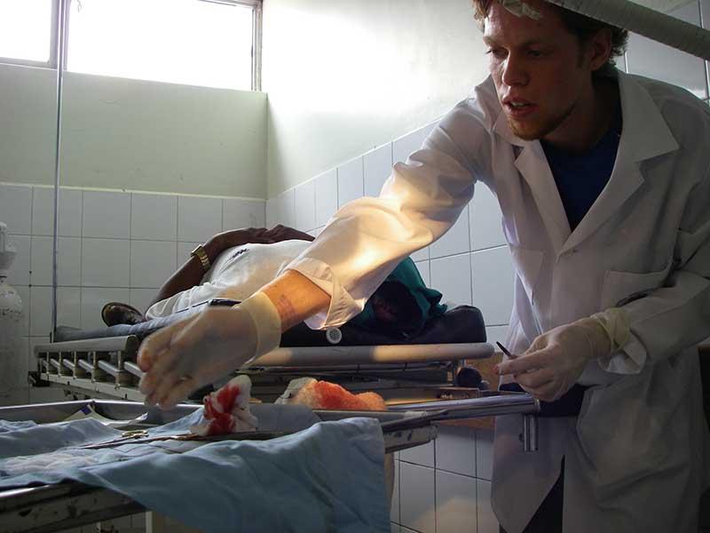 Behandlung im Krankenhaus