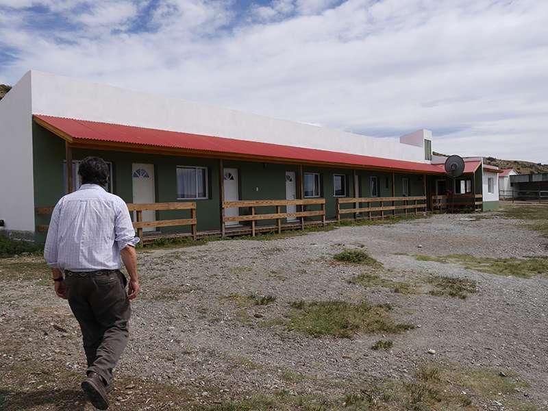 Albergue in Patagonien