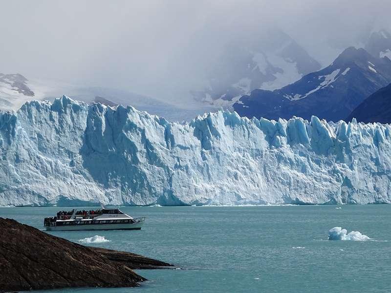 Gletscher bei El Calafate