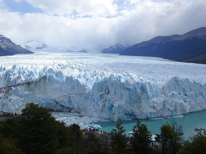Die Gletscher-Front