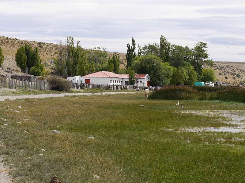 Haupthaus der Estancia