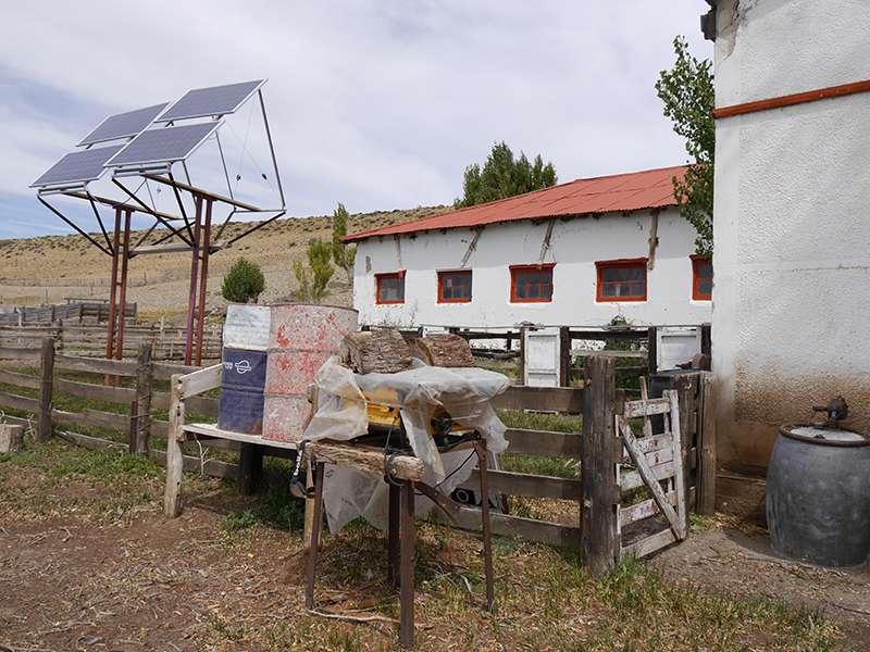 Estancia-Gebäude