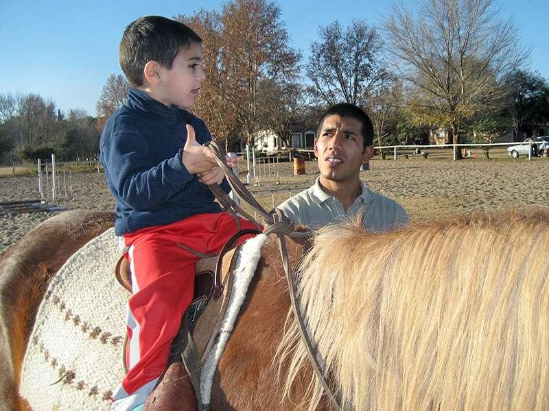 Equinoterapie Reittherapie Argentinien