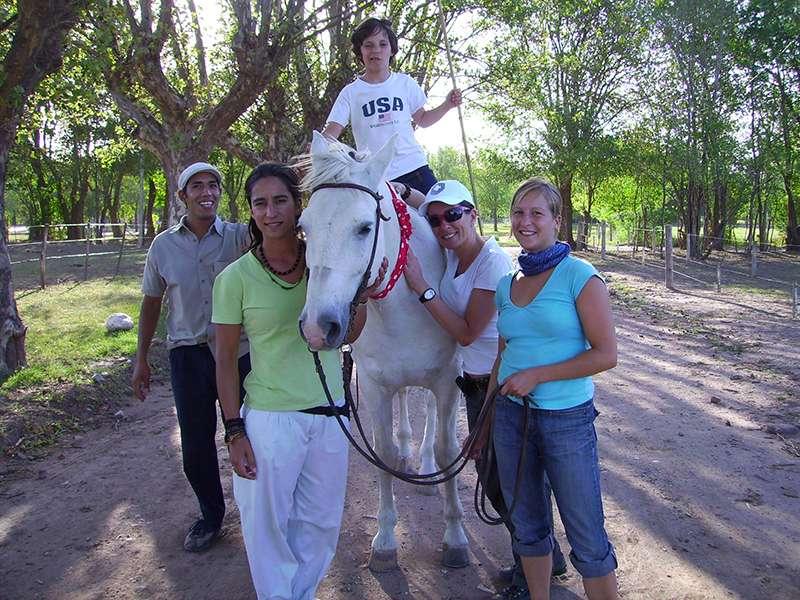 Pferdetherapie-Team