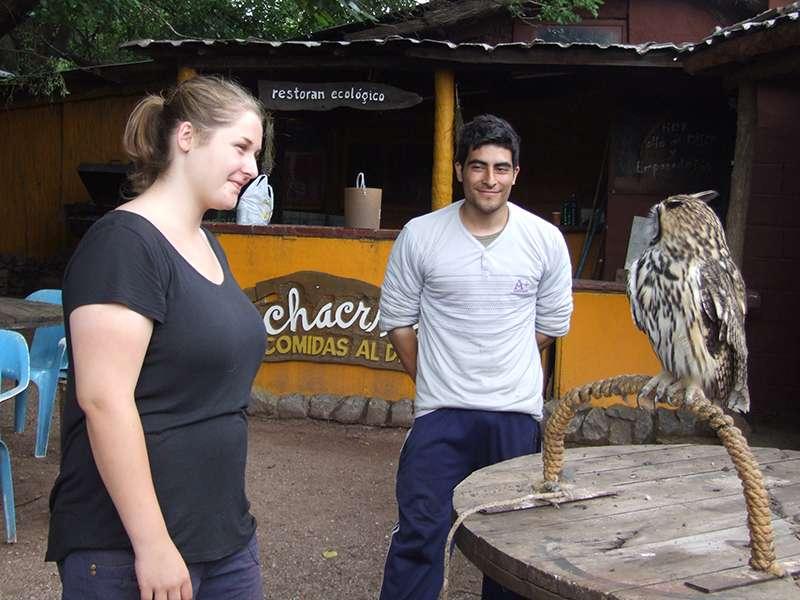 Freiwillige beim Tierpark