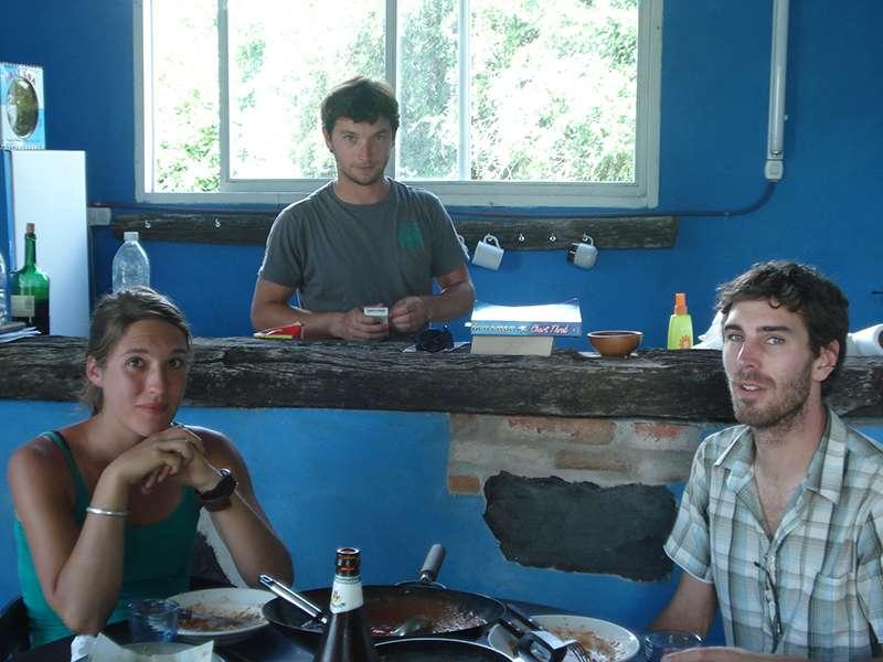 Teilnehmerunterkunft auf dem Tierpark