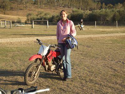Proud Enduro Biker