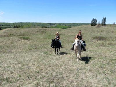 Ranch premises in Manitoba Canada