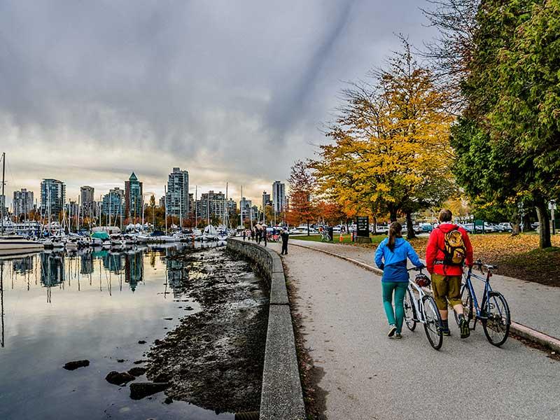 Freizeit in Vancouver