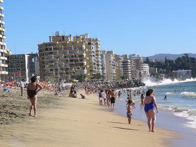 Strand bei Viña del Mar