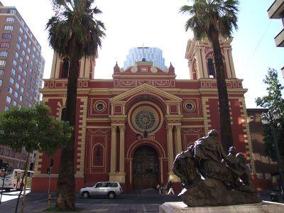 Catedrál en Santiago de Chile