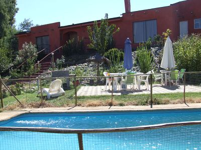 Hostel with swimming pool