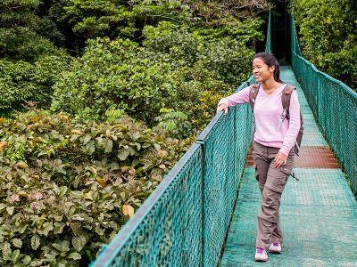 Jungle Bridge Costa Rica