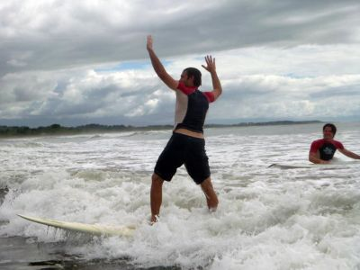 Surf fun in Costa Rica