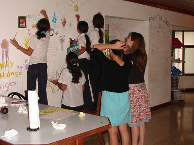 Helping kids in Costa Rica