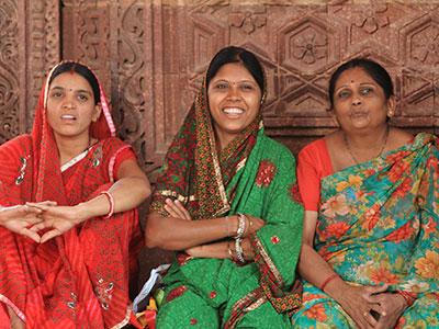 Proud indian women