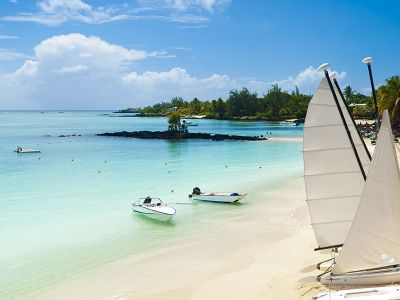 Beach at Mauritius