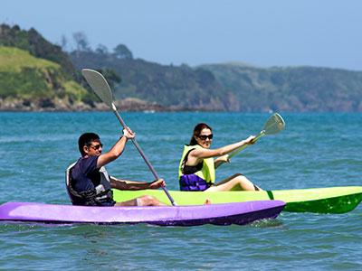 Kanu paddeln in Neuseeland