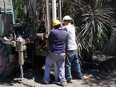 Praktikum Brunnenbau und Wasserversorgung