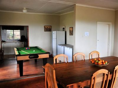 Accommodation dining room