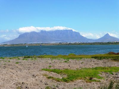 View at Table Mountain Cape Town South Africa