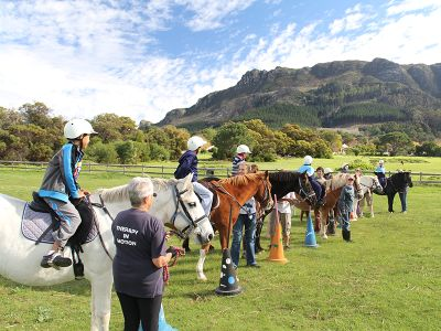 Riding for the disabled at Constantia Valley Cape Town