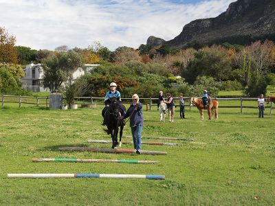 Compound of equine therapy center Cape Town