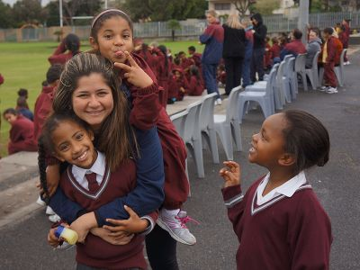 Orphans primary school in Cape Town