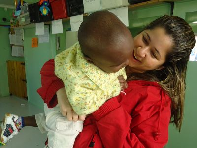 Volunteer project orphanage in Cape Town