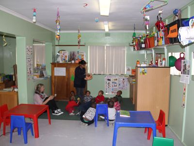 Orphanage in Cape Town