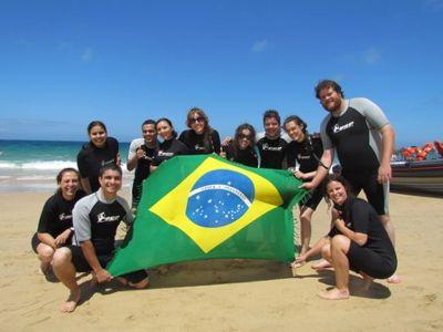 International volunteer group in South Africa