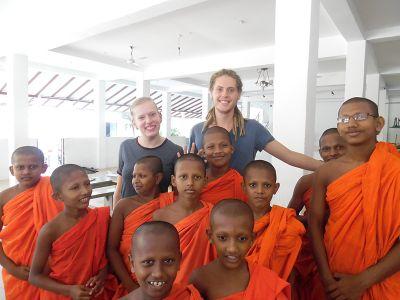 Monk students Sri Lanka