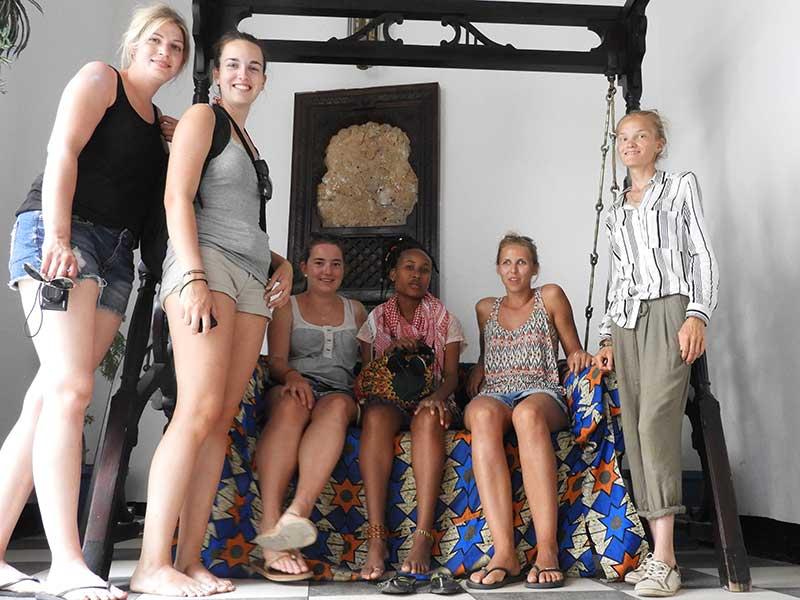 Freiwillige auf Sansibar