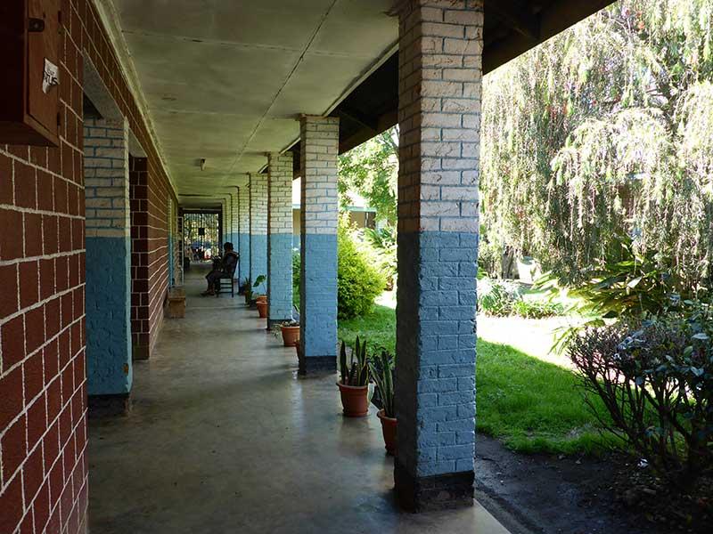 Krankenhaus auf Sansibar