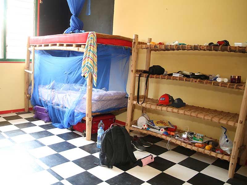 Schlafsaal Teilnehmerhaus