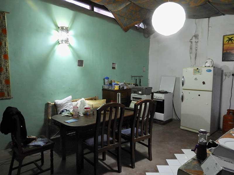Küche Unterkunft Sansibar