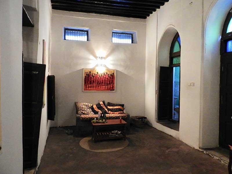 Wohnzimmer Teilnehmerhaus