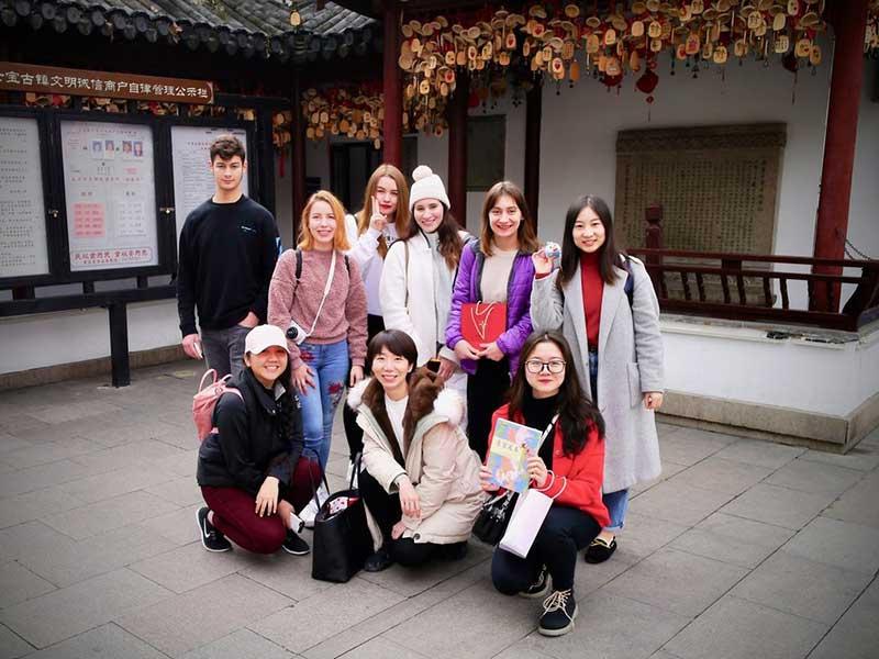Treffen in Shanghai