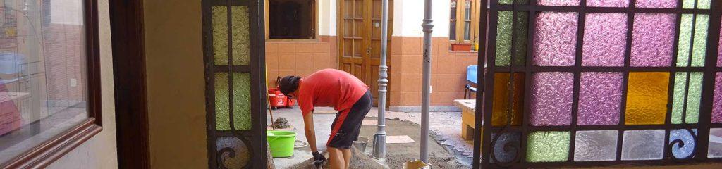 Als Bauhelfer in Argentinien arbeiten