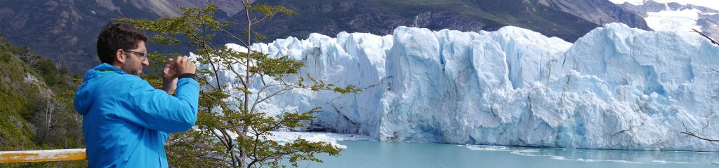 Argentinien El Calafate Gletscher Perito Moreno