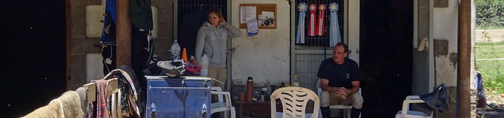 Argentinien Haras Reitclub Werzeugschuppen