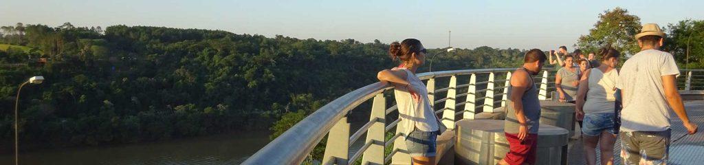 Bei der Triple Frontera in Puerto Iguazú