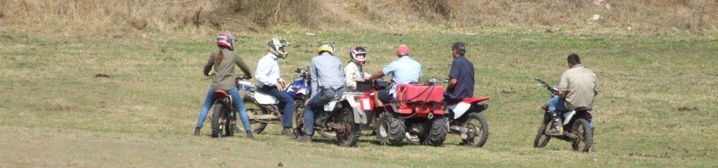 Australien Biker Enduro Motorrad Gruppe
