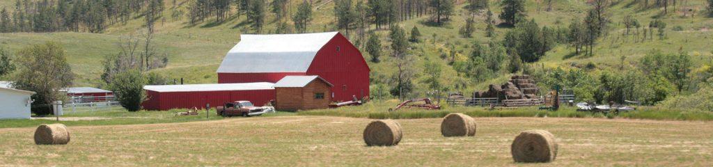 Canada Farm red Barn