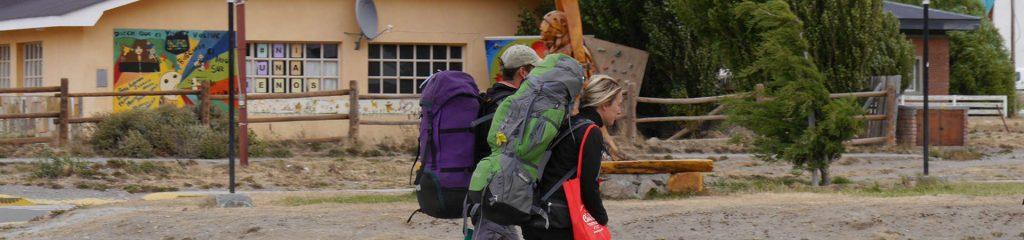 Chile Patagonien Rucksackreisende